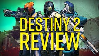 Destiny 2 Review - The Better Game for the Discerning Guardian (Video Game Video Review)