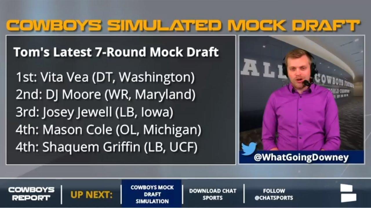 Dallas Cowboys 7-Round 2018 NFL Mock Draft