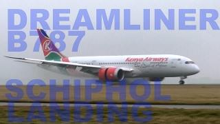boeing-787-dreamliner-kenya-airways-sy-kzf-splash-landing-@schiphol-ams-eham