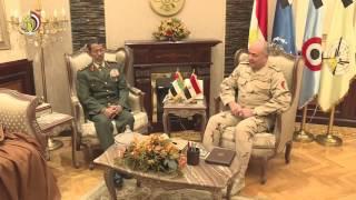 بالفيديو.. رئيسا أركان الجيشين المصرى والإماراتى يبحثان التنسيق العسكرى ضد الإرهاب