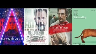 AJ's Movie Reviews: The Neon Demon, Blood Father, The Sea of Trees & Wiener Dog(9-23-16)