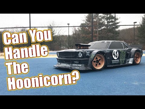 RC Gymkhana Street Machine - HPI Racing RS4 Sport 3 Ford Mustang Hoonicorn RTR | RC Driver
