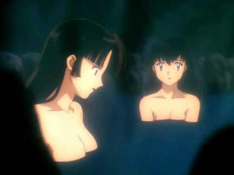 INUYASHA~ Episode 29: Hot Springs Scene {FANDUB} - YouTube