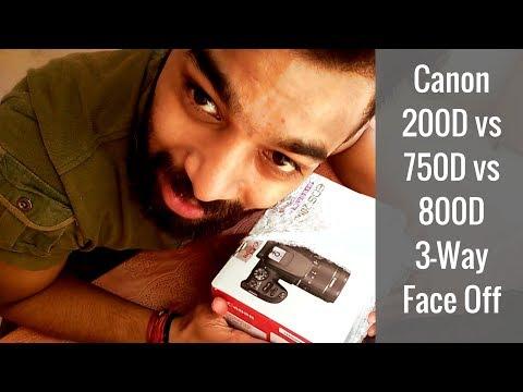 Canon 200D Vs 750D Vs 800D | Downright Purchase Decision