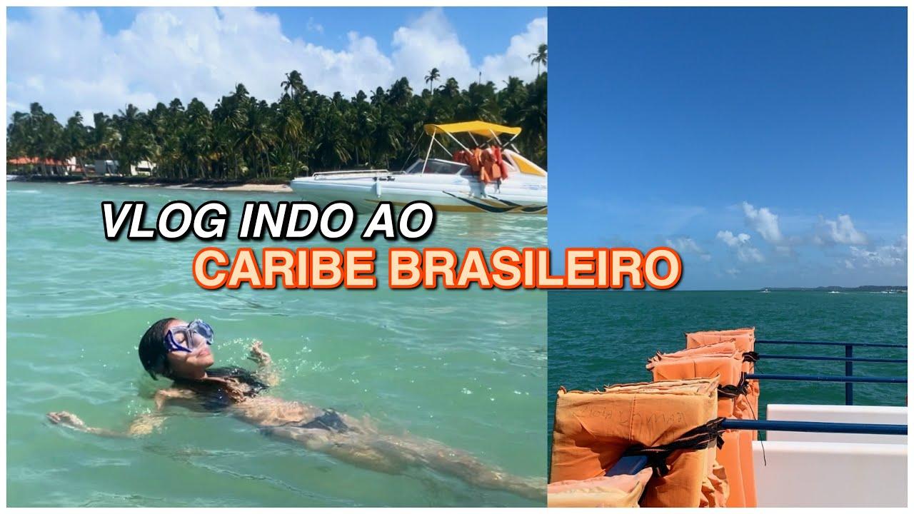 indo ao caribe brasileiro junto comigo