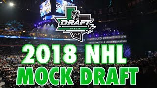 2018 NHL MOCK DRAFT - NHL DRAFT CENTRAL