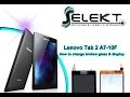 Lenovo Tab 2 A7 10F LCD & Glass Digitizer Replacement / Wymiana ekranu | Selekt