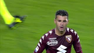 Il gol di Iago Falque - Torino - Cagliari 2-1 - Serie A TIM 2017/18