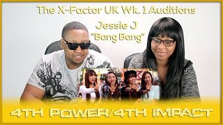 """4th Power/4th Impact Raise The Roof w Jessie J hit """"Bang Bang"""" The X Factor UK 2015 Auditions Week 1 - Stafaband"""