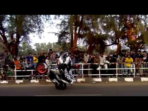 Ghost Riders Bike Stunts In Kollam Youtube