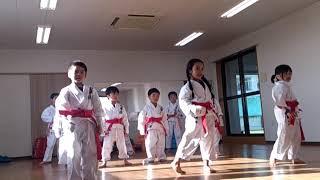 佐野史仁師範指導‼  バディスポーツ幼稚園空手道クラブ‼️