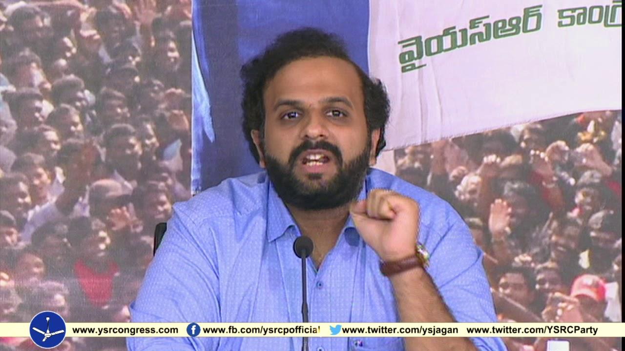 YSRCP PAC Member Duvvuri Krishna slams TDP over Budget allocations