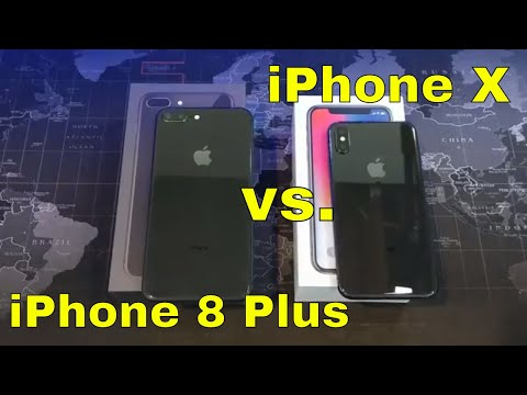 iPhone X vs.  iPhone 8 Plus - Which is right for you?