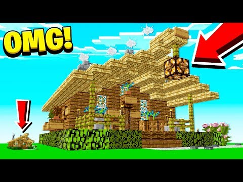 WORLD'S **BIGGEST** MINECRAFT HOME! (1.13 MINECRAFT)