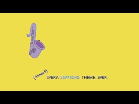 Almost Every Simpsons Theme Recording  Unreleased goodies!