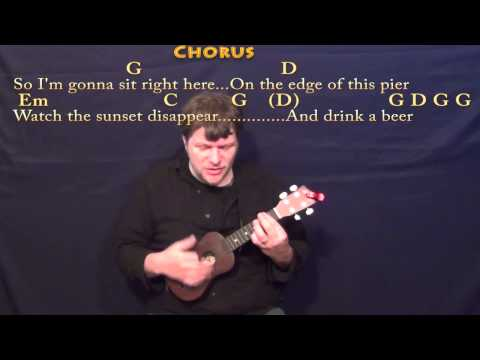 Drink A Beer - Ukulele Cover Lesson in G with Chords/Lyrics
