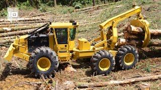 10 Máquinas Florestais mais Incríveis do Mundo
