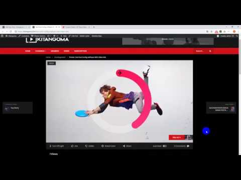 Video In JwPlayer Server With Video Ads