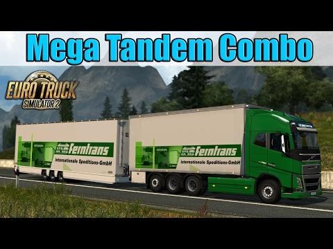 ETS2 - Mega Tandem Combo XXL