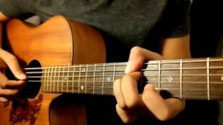 """Gambar cover Adhitia Sofyan """"Memilihmu"""" Tutorial Gitar - Video 2 : Full Song."""
