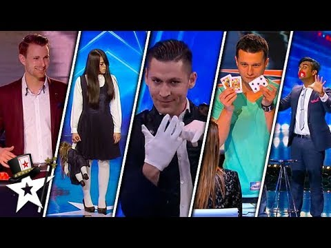 TOP 5 Magicians Around The World | Magician's Got Talent