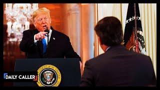 Best of Acosta vs Trump
