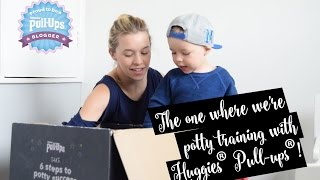 THE ONE WHERE WE'RE POTTY TRAINING WITH HUGGIES® PULL-UPS® #AD | HELLO ARCHIE