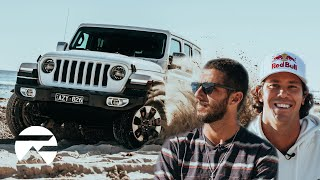Filipe Toledo and Jordy Smith Go Off-Roading in Margaret River In Search of Waves