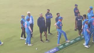 Full Clipping of Fight between Bangladesh and Indian player after U19 worldcup Final match at SA. Thumb