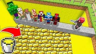 ÖLÜRSEN ALTIN HAVUZUNA DÜŞERSİN! 😱 - Minecraft