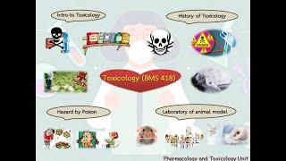 รายวิชาในหลักสูตร BMS ตอนที่ 5 : BMS 418 พิษวิทยา(TOXICOLOGY)