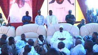 Interventions Cheikh Béthio et Serigne Bass Abdou Khadre, cérémonie prières S. Guillé Thioune