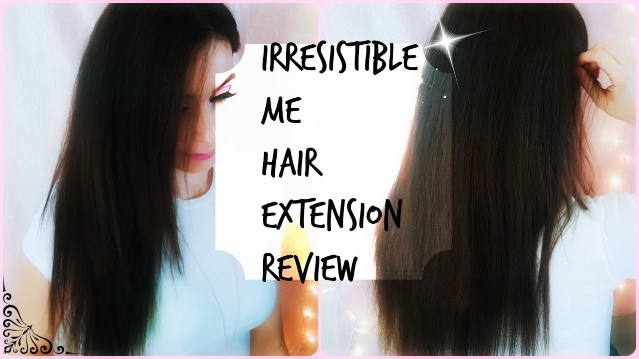 Irresistible Me Silky Touch Hair Extension Review 18 Inch 200g