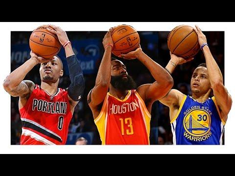 Top 10 Dynamic NBA Shooters (2015-2016)