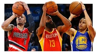 Top 10 Dynamic NBA Shooters (2015-2016)