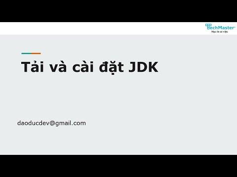 01. Tải và cài đặt JDK