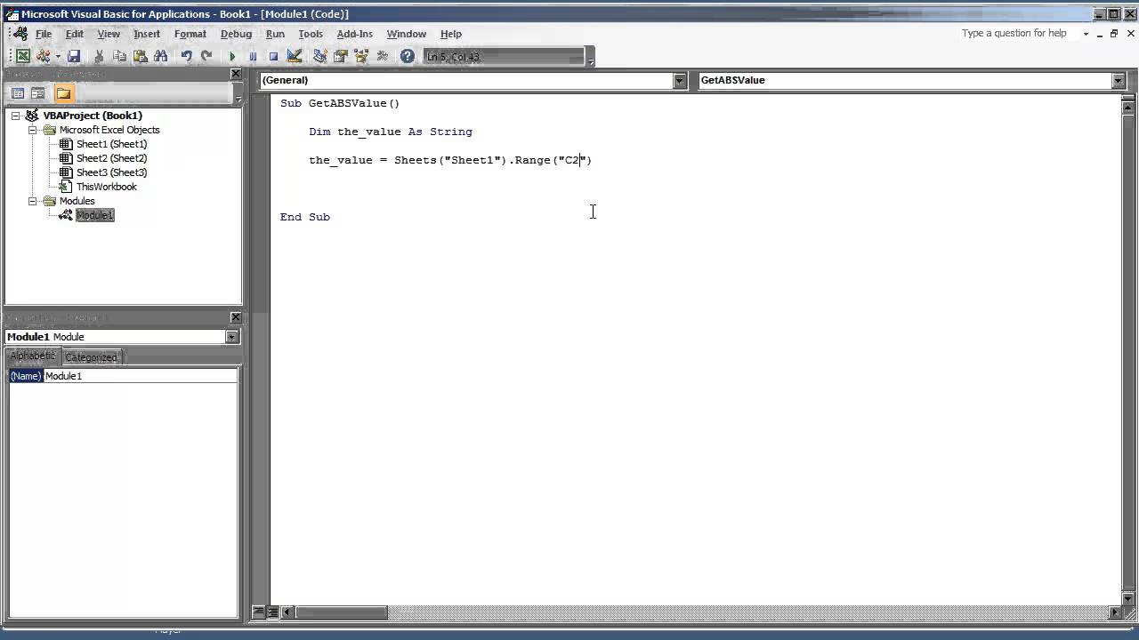 VBA Excel 2010 Getting the Absolute Value Numeric and Mathematical ...