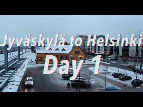 How I Afford to Live in Finland | Jyväskylä to HELSINKI Vlog | Day 1