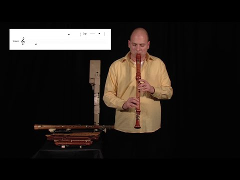 Jorge Isaac: Blockflute (Recorder) Demonstration