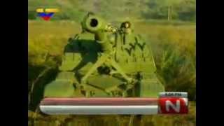 Maniobras de combate  en Cojedes Pao 2012