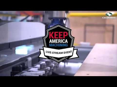 Keep America Machining - (Live CNC demos, plant tours, & more) - Event promotional video