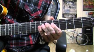 """Miss You"" guitar style lesson - Rolling Stones inspired riffs and chords.."