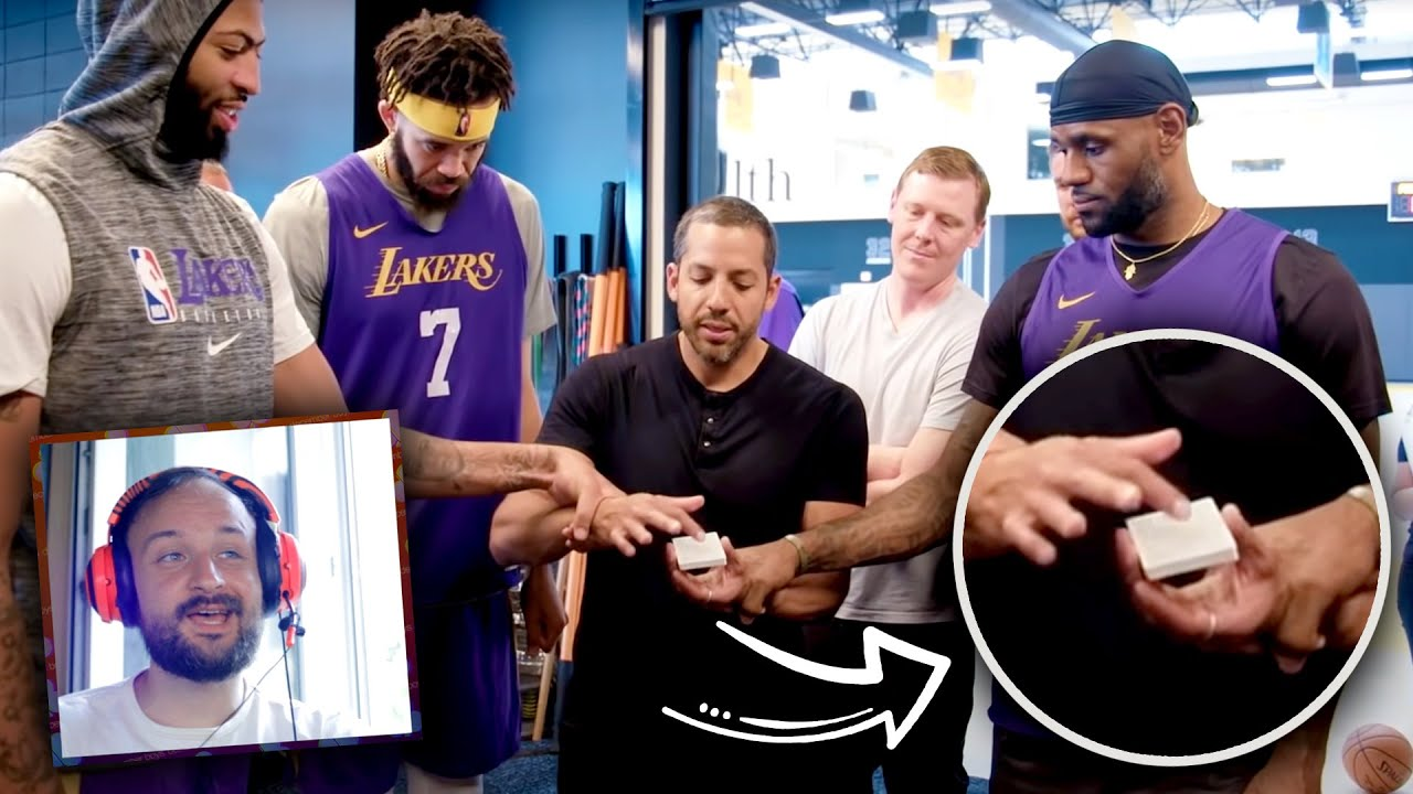I think I figured what's David Blaine been up to..