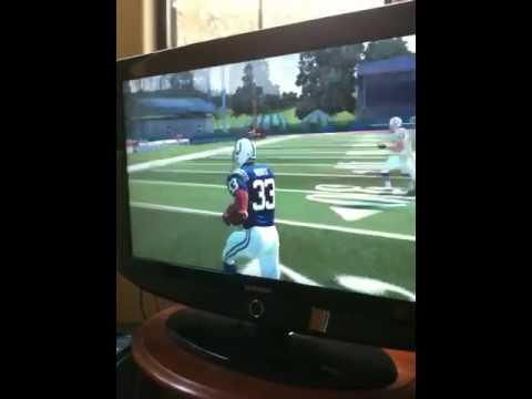 Madden - Colts Kickoff Return