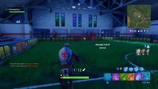 Fortnite battle Royal - Soccer Net Glitch