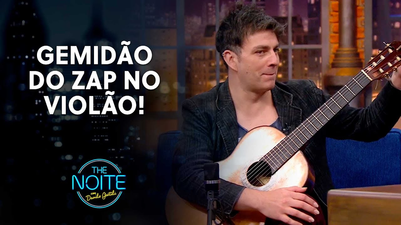 Download Fábio Lima consegue reproduzir qualquer som no violão   The Noite (05/04/21)
