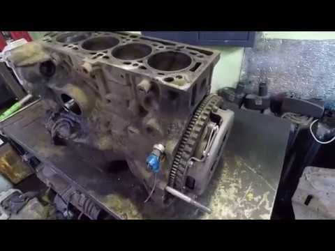Жесть на СТО, или ремонт таксомотора РЕНО Логан К7М