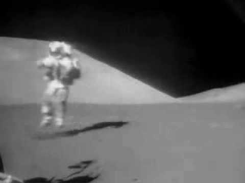 astronauts jumping on the moon - photo #7