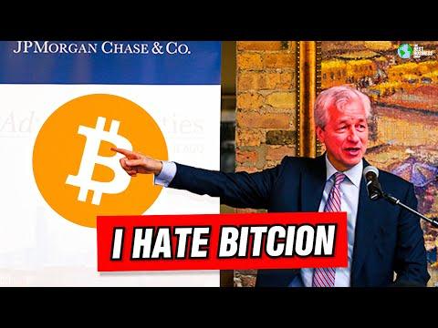 Jamie Dimon HATES Bitcoin