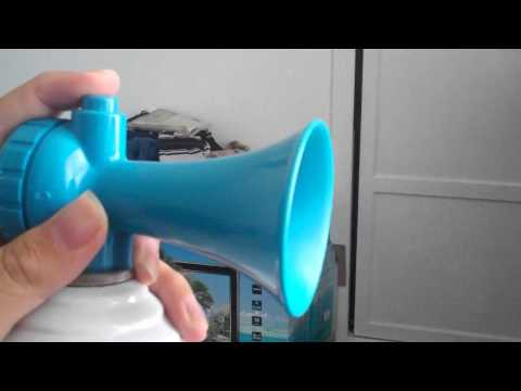 Air Horn Sound Test That How Loud Is My Flip Video Mino HD Camcorder